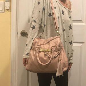Steve Madden pink shoulder bag